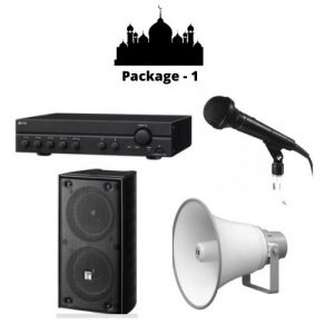 Mosque Sound Solution Package