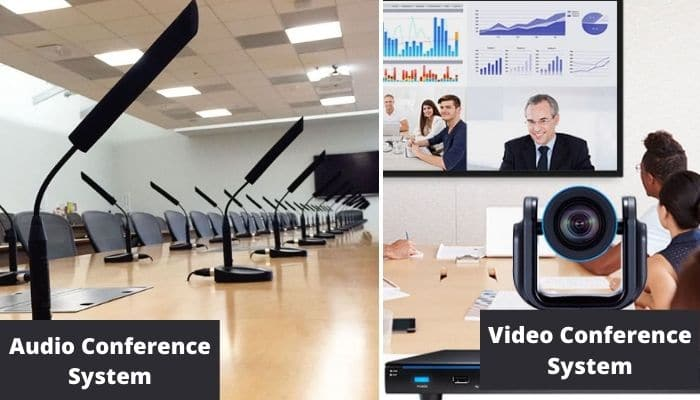 Audio-Conference-System-vs-video-conference-system